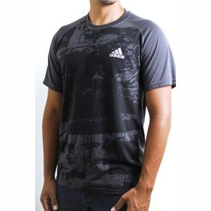 Adidas Graphic Tee w/'Climate'